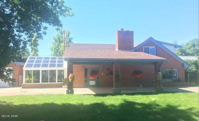 Great Falls MT Single Family Home For Sale: $379,900