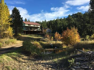 Cascade County, Lewis & Clark County, Lewis And Clark County, Teton County Single Family Home For Sale: 188 Upper Sawmill Creek Ln