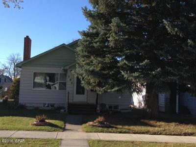 Conrad Single Family Home For Sale: 204 S Delaware St