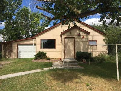 Cut Bank Single Family Home For Sale: 130 2nd Ave NW