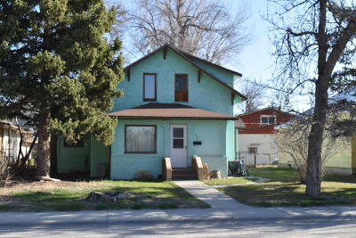 Conrad Single Family Home For Sale: 417 4th Ave SW