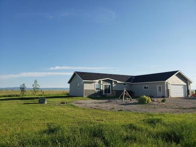 Judith Basin County Single Family Home For Sale: 1504Lot2+3 Southwind Rd #(160 acr