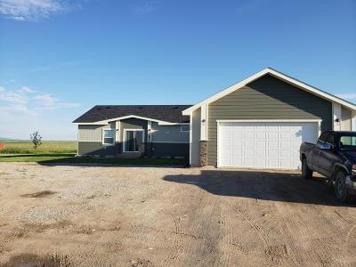 Judith Basin County Single Family Home For Sale: 1504-Lot 2 Southwind Rd #(65 ac a