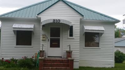 Conrad Single Family Home For Sale: 310 Delaware St S