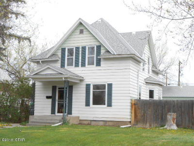 Great Falls Single Family Home For Sale: 1717 4th Ave N