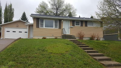 Great Falls Single Family Home For Sale: 619 Sacajawea Dr