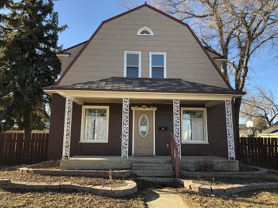 Cut Bank Single Family Home For Sale: 622 E Main St