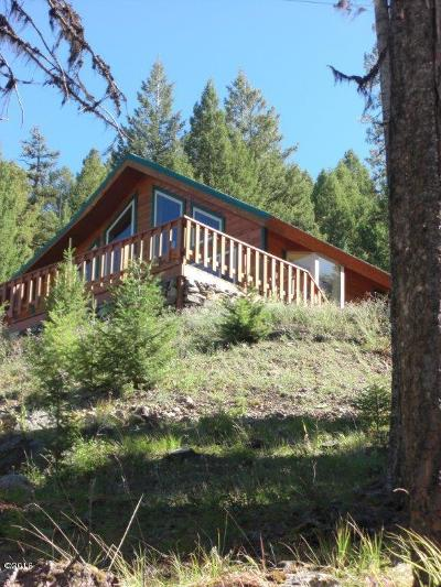 Seeley Lake Single Family Home For Sale: 760 Wolverine Drive