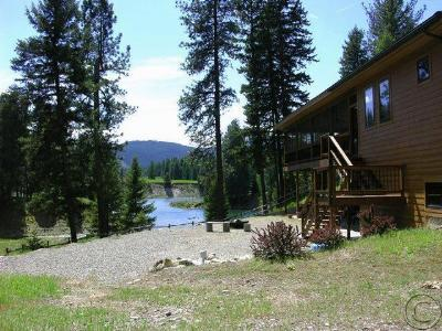 Thompson Falls Single Family Home For Sale: 15 Craws Nest Loop