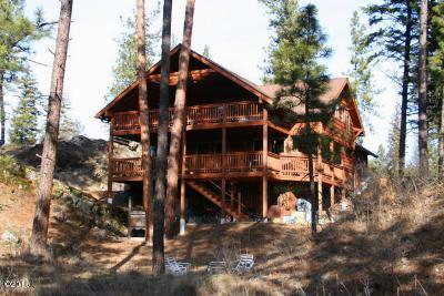 Thompson Falls Single Family Home For Sale: 3 Shoreline Dr