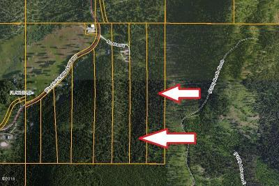 Lakeside Residential Lots & Land Under Contract Taking Back-Up : Blacktail Mountain Road