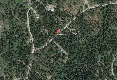 Missoula County Residential Lots & Land For Sale: 175 Moose Lane
