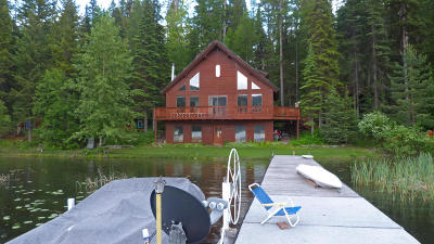 Kalispell Single Family Home Under Contract Taking Back-Up : 3185 Ashley Lake Road