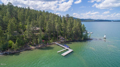 Flathead County Single Family Home For Sale: 875 Lakeside Boulevard