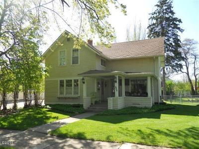 Kalispell MT Single Family Home Under Contract Taking Back-Up : $289,000