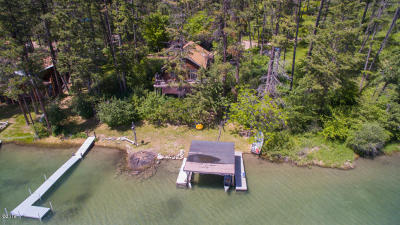 Lakeside Single Family Home Under Contract Taking Back-Up : 301 Hughes Bay Road
