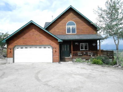 Stevensville Single Family Home For Sale: 1360 North Sunset Bench Road