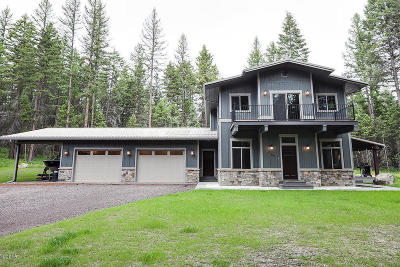 Whitefish Single Family Home For Sale: 259 Hidden Ridge Trail