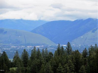 Missoula Residential Lots & Land For Sale: 30063sb240 Big Flat