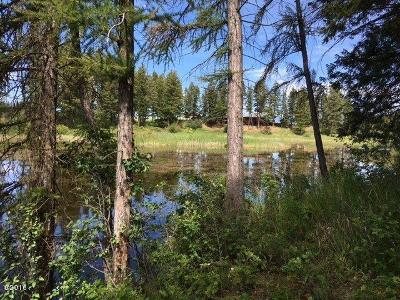 Flathead County Residential Lots & Land Under Contract Taking Back-Up : 185 Hidden Waters Lane