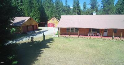 Saint Regis Single Family Home For Sale: 11650 Mullan Gulch Road