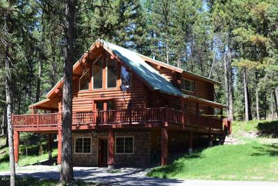 Seeley Lake Single Family Home For Sale: 570 Glacier Drive
