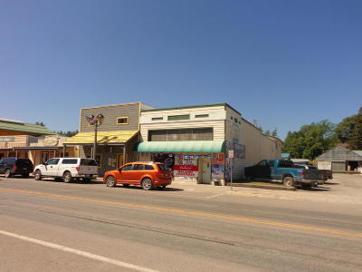 Lincoln County Commercial For Sale: 115, 113 Dewey Avenue