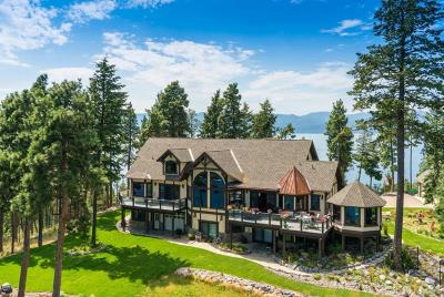 Bigfork Single Family Home For Sale: 14896 Yenne Point Road