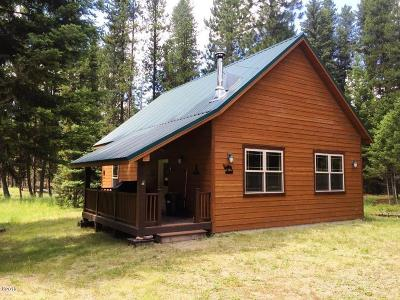 Seeley Lake Single Family Home For Sale: Nhn Pinewood Circle