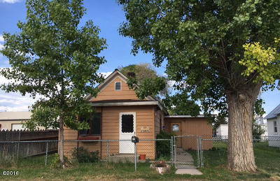 Kalispell Single Family Home Under Contract Taking Back-Up : 77 4th Ave W North