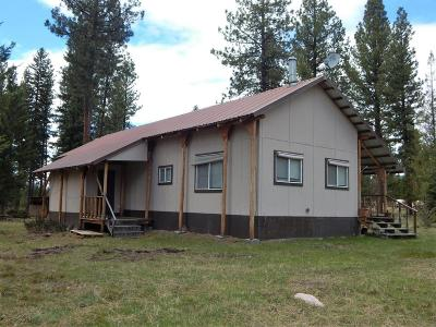 Seeley Lake MT Single Family Home For Sale: $123,500