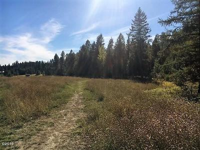 Whitefish Residential Lots & Land Under Contract Taking Back-Up : 6394 Us Highway 93 South