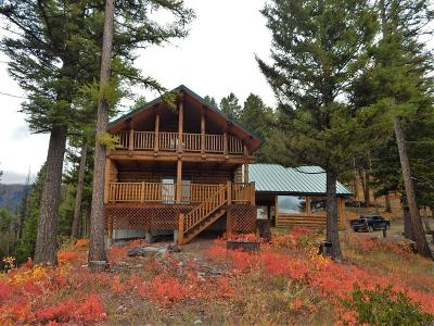 Seeley Lake MT Single Family Home For Sale: $299,000
