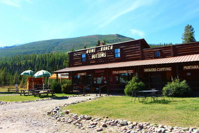 West Glacier, Polebridge Commercial For Sale: 8950 North Fork Road