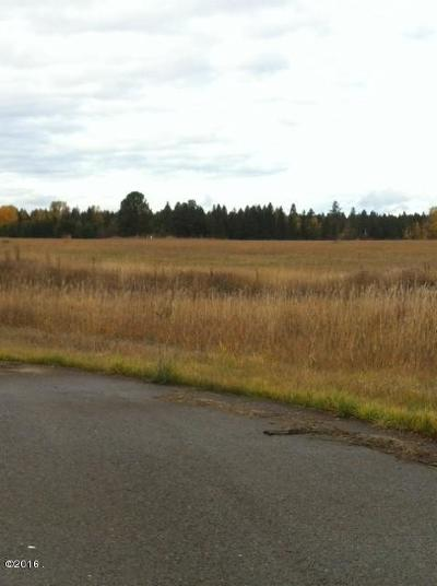 Columbia Falls Residential Lots & Land Under Contract Taking Back-Up : 75 Arcadia Way