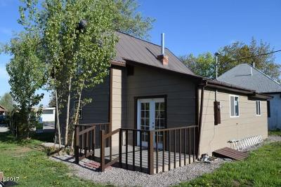 Saint Ignatius MT Single Family Home For Sale: $139,900