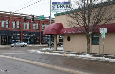 Kalispell Commercial Under Contract Taking Back-Up : 302 South Main Street
