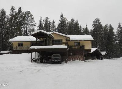 Whitefish MT Single Family Home Under Contract Taking Back-Up : $575,000