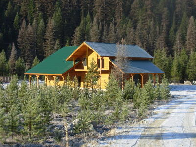 Lincoln County Single Family Home For Sale: 817 North Fork Yaak River Road
