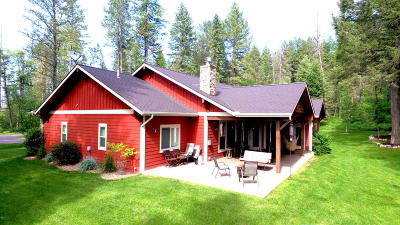 Columbia Falls Single Family Home For Sale: 216 Tavern Lane