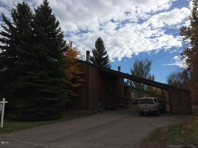 Kalispell Single Family Home Under Contract Taking Back-Up : 338 College Avenue