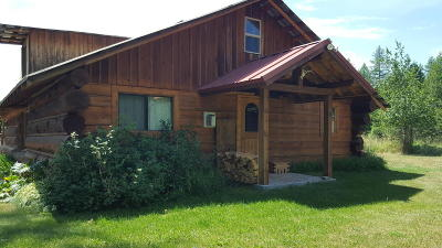 Seeley Lake Single Family Home For Sale: 384 Terrillion Lane
