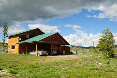 Seeley Lake Single Family Home For Sale: 1201 Shining Shirt Road