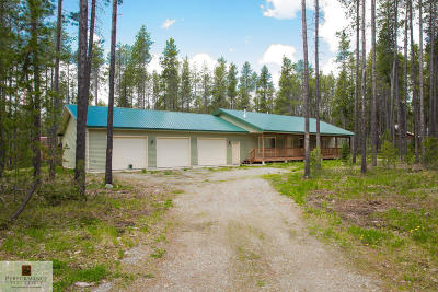 Columbia Falls, Hungry Horse, Martin City, Coram Single Family Home For Sale: 158 Lodge Avenue