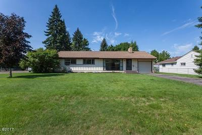 Columbia Falls, Hungry Horse, Martin City, Coram Single Family Home Under Contract Taking Back-Up : 260 4th Avenue East North