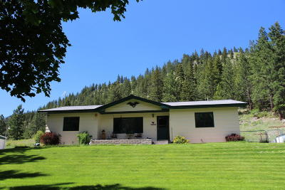 Lolo Single Family Home Under Contract Taking Back-Up : 11550 Highway 12 West