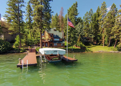 Lakeside Single Family Home For Sale: 423 Lakeshore Drive