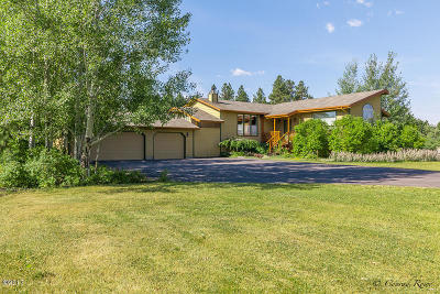 Flathead County Single Family Home For Sale: 640 Country Way