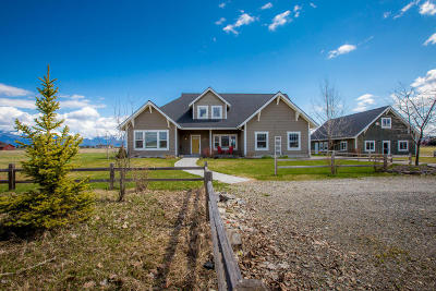 Kalispell Single Family Home Under Contract Taking Back-Up : 1025 North Somers Road