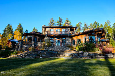 Flathead County Single Family Home For Sale: 320 Haugen Heights